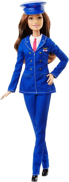 Amazon.com: Barbie Careers Pilot Doll: Toys & Games