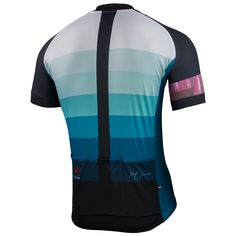 Faded Frost Jersey by Leif Kruse Men's | Artist-Inspired Cycling Apparel | Pactimo