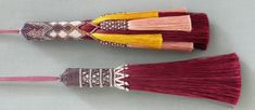 Tassels can be hung anywhere from the back of doors to lamp pulls | the colors of these are so rich they would add the perfect touch to any room, be in bright or neutral