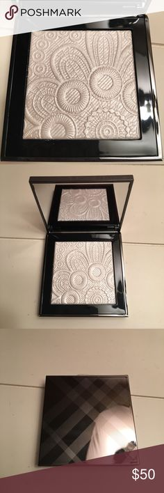 Burberry highlighter. Brand new condition. Never used. White highlighter. Beautiful design. Burberry Makeup