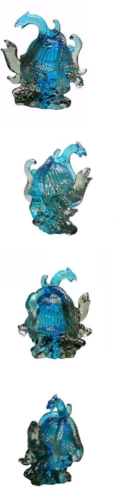 Liuli Crystal Dragon Paperweight Table Decor Charm Unique Gifts Lucky Mascot