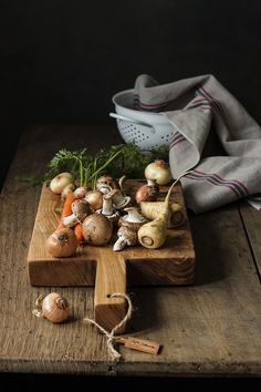Veggies for my roastbeef. Preparando las verduras para mi Roastbeef
