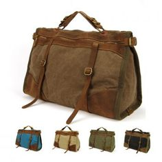 Cheap bag phone, Buy Quality tdi directly from China bags jazz Suppliers: Vintage Retro military Canvas + Leather men travel bags luggage bags men weekend Bag Overnight duffle bags tote Leisure Canvas Weekender Bag, Canvas Travel Bag, Canvas Messenger Bag, Messenger Bag Men, Mens Travel Bag, Travel Bags, Cheap Travel, Travel Luggage, Denim Armband