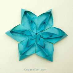 How to Make a Tessellated Origami Flower post image