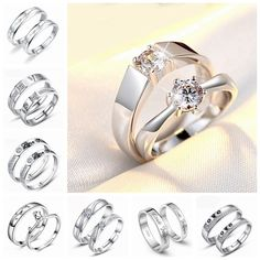 Like and Share if you want this  Couple Rings Set For Men/Women Engagement/Wedding Lovers Ring Forever Love Promise 18k White Gold Plated Fashion Jewelry CR63     Tag a friend who would love this!     FREE Shipping Worldwide     Get it here ---> http://bionto.com/couple-rings-set-for-menwomen-engagementwedding-lovers-ring-forever-love-promise-18k-white-gold-plated-fashion-jewelry-cr63/