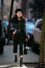 STYLE DU MONDE / New York Fashion Week Fall 2017 Street Style: Jenny Folsom  // #Fashion, #FashionBlog, #FashionBlogger, #Ootd, #OutfitOfTheDay, #StreetStyle, #Style