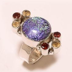 Deal Of the Day  Mystic Topaz Ring-In by silverjewelryonline