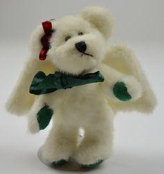 Boyds Bears Plush Angel Teddy Bear Ornament - Julia Angelbrite