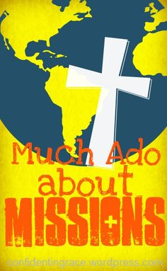 Such a cute and crafty way to focus on prayer for missionaries and their families!  Much Ado About Missions: DIY Missions Prayer Book for Kids