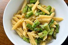 Roasted Asparagus and Garlic Penne