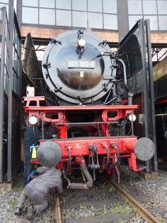 Auf Tuchfühlung mit betriebsfähigen Dampflokomotiven