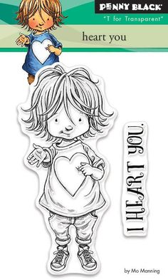 Share your heart with a project featuring the Heart You Clear Photopolymer Stamps by Mo Manning for Penny Black. The package includes two photopolymer stamps Mo Manning, Penny Black Stamps, Parchment Craft, First Anniversary, Birthday Love, Digi Stamps, Black Heart, Cute Cards, Clear Stamps