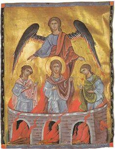 Память пророка Даниила и троих святых отроков