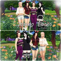 Sims 4 CC's - The Best: Group Poses by Melly20x