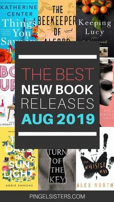 August 2019 Book Releases Not to Miss Looking for book suggestions? We have all the hot new August 2019 book releases. Find out which August 2019 book releases are getting all the attention. Good New Books, Best Books To Read, Book Club Books, Book Lists, Ya Books, Reading Lists, Book Nerd, Book Suggestions, Book Recommendations