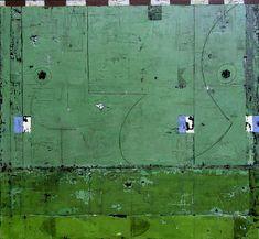 """justanothermasterpiece:    Michael Shemchuk, Meridian 37, 48"""" x 46"""", acrylic on wood panel."""
