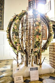 Festival floral de Brissac : quand le végétal se fait sculpture