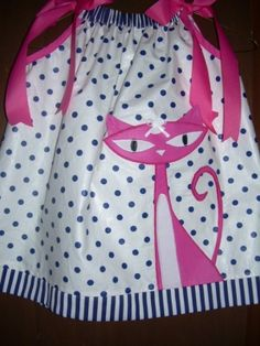 Pillow case dress .. oh how I wish I could sew! by nic heart