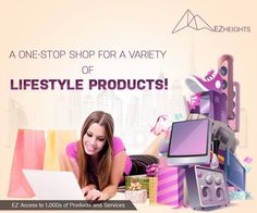 One-Stop Shop for a Variety of lifestyle products!  http://www.ezheights.com/