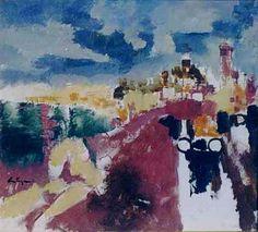 """""""Mar del Plata"""" Autor: Juan Carlos Castagnino - Óleo #arte #art #painting"""