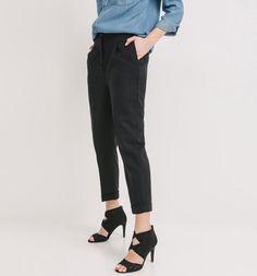 Spodnie+z+wysoką+talią