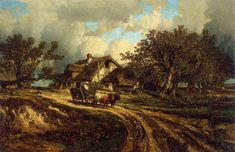 Jules Dupré, ( 1811- 1889, is een Franse landschapsschilder,  School van Barbizon.