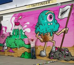by Buff Monster in Christchurch, NZ, 2/15 (LP)