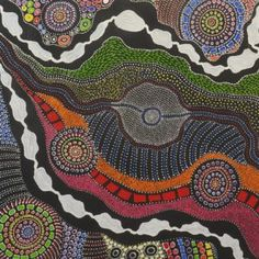 Amazing Australian Aboriginal Artwork by Anna Price Petyarre / My Country is the title of the painting. Aboriginal Symbols, Aboriginal Artwork, Aboriginal Culture, Aboriginal Artists, Indigenous Australian Art, Indigenous Art, Mini Canvas Art, Dot Painting, Encaustic Painting