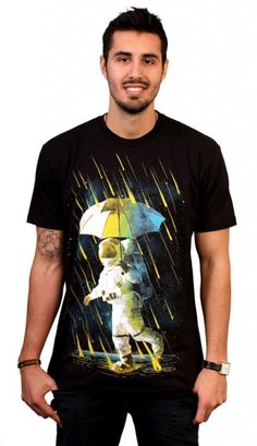 Meteor Shower In Space T-Shirt