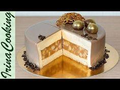 МУССОВЫЙ ТОРТ ЯБЛОКИ В КАРАМЕЛИ | Mousse Caramel Apple Cake Recipe - YouTube