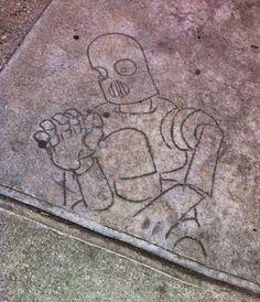 Image result for etched sidewalks
