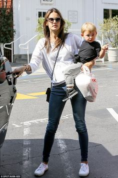 Alessandra Ambrosio Brentwood Country Mart