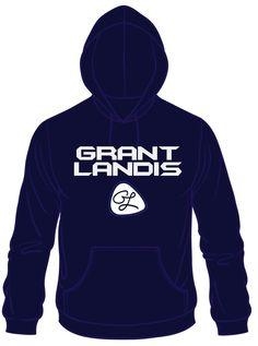 Grant Landis Navy Hoodie
