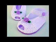 Super gifts for kids girls shops 17 ideas Crochet Baby Sandals, Booties Crochet, Baby Girl Crochet, Crochet Baby Clothes, Crochet Shoes, Crochet Slippers, Baby Blanket Crochet, Crochet For Kids, Baby Booties