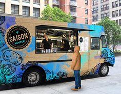 Ознакомьтесь с этим проектом @Behance: «Saison - Seasonal Eats Food Truck»…