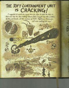 Gravity Falls Codes, Libro Gravity Falls, Gravity Falls Journal, Gravity Falls Fan Art, Journal 3, Journal Pages, Fallen Series, Dipper And Mabel, Billdip