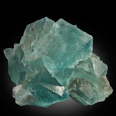 Science and Natural History | This incredible blue fluorite combines multiple crystals reaching as large as 21 and 14 cm on edge! Minerals are prized for the sharp, undamaged shape of their crystals and are less valuable if damaged. This gorgeous, rare fluorite is in beautiful condition and it is astonishing that it has survived millions of years without incurring significant damage. It is nearly complete and viewable from multiple angles. Fluorite is prized by collectors because it can be…