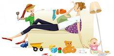Για τις μαμάδες που δεν δουλεύουν και «κάθονται όλη μέρα» Disney Characters, Fictional Characters, Family Guy, Disney Princess, Instagram, Tired Mom, Housewife, Two Daughters, Sons