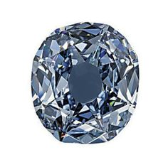THE WITTELSBACH DIAMOND   An historic cushion-shaped fancy deep grayish blue diamond weighing 35.56 carats to the plain mount (illustrated unmounted)
