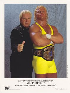 Mr. Perfect + Bobby Heenan