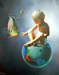 Animali, fratelli maggiori ******************************* Poco conosciuti e poco rispettati, gli animali sono alleati, compagni di viaggio e di gioco su questo vasto pianeta in cui l'uomo crede di essere padrone.