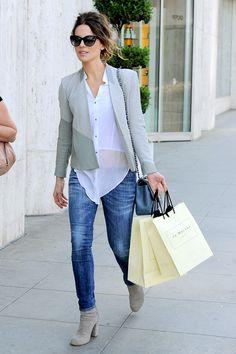 Кейт Бекинсейл на шопинге в Лос-Анджелесе