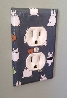 What do you find in every home that's exactly the same? Light switch and electrical outlet covers. Why not add a little personality to your…