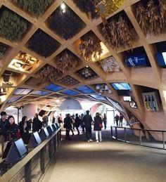 XTU Architects creates wooden lattice for French Expo pavilion