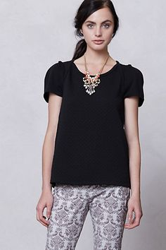 Double Texture Tee #anthropologie need this