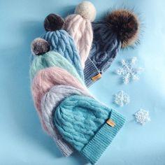 ❄️палитра шапок❄️В каждой из них есть одно неповто�... Crochet Fashion, Knit Beanie, Crochet Yarn, Baby Hats, Kids And Parenting, Baby Knitting, Knitted Hats, Knitwear, Knitting Patterns