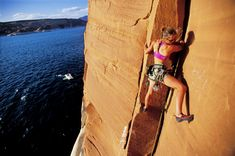 Top free wheelin' #AllAmerican #Adventures. @lonelyplanet Oct, 2016. In Pic: Make a splash in Lake Powell, an ideal spot for deep water soloists© Corey Rich / Getty Images