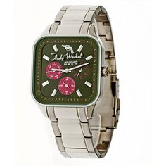 The Fifteens Green Pink now featured on Fab. Andy Warhol Watches by Seiko.