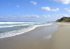 BEACH. The Israel beaches are a great destination for some relaxation time on a trip to the Middle East.