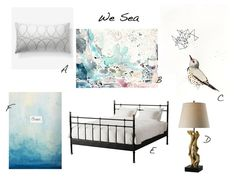 We Sea Bedroom inspiration